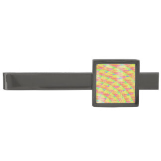 Bright Interference Gunmetal Finish Tie Clip