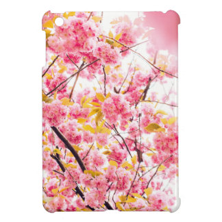Bright Japanese Pink Cherry Blossoms Sakura iPad Mini Cover