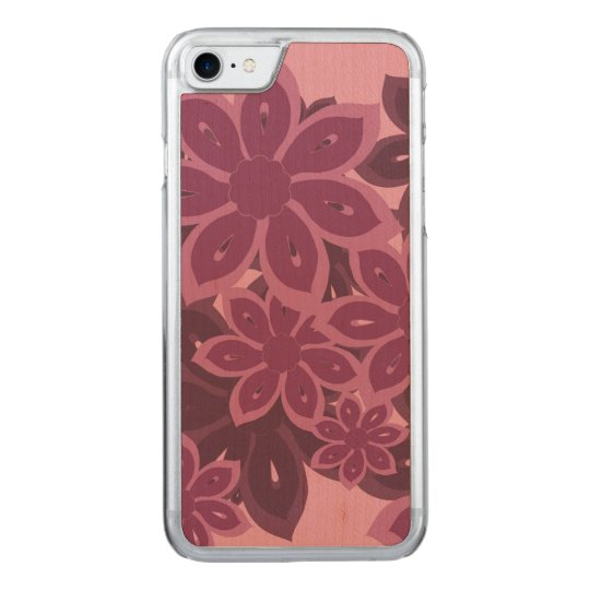 Bright Kanzashi Floral Carved iPhone 8/7 Case