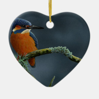 Bright Kingfisher gifts Ceramic Ornament