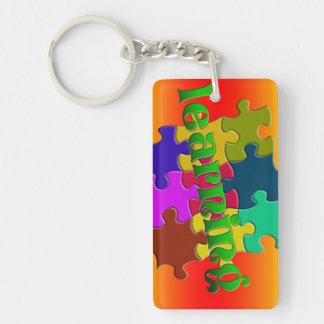 Bright Learning Acrylic Keychain