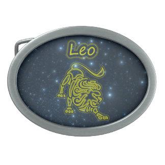 Bright Leo Belt Buckle
