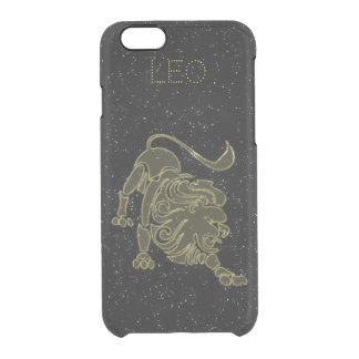 Bright Leo Clear iPhone 6/6S Case