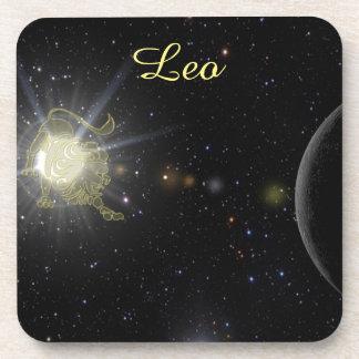 Bright Leo Coasters