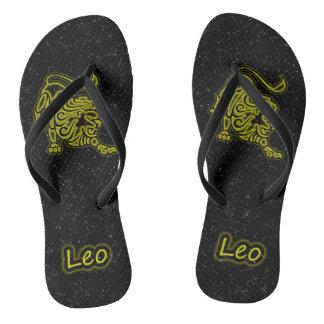 Bright Leo Flip Flops