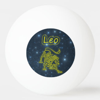 Bright Leo Ping Pong Ball