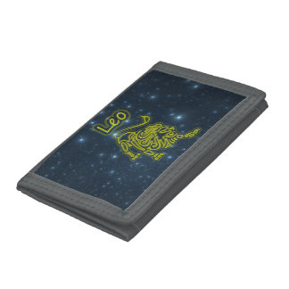 Bright Leo Trifold Wallets