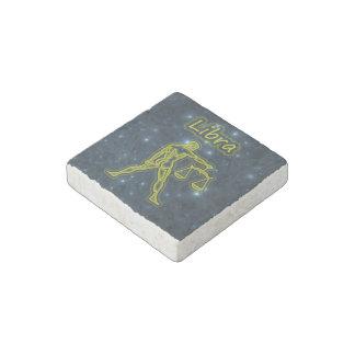 Bright Libra Stone Magnets