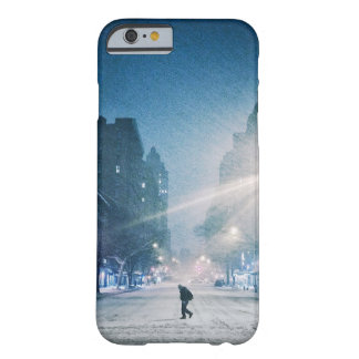 Bright Light On A Winter Night Barely There iPhone 6 Case