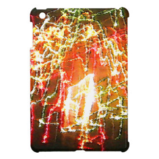 Bright Lights Abstract by Dale Wilhelm Cover For The iPad Mini