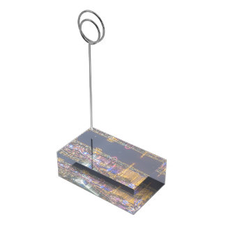 Bright Lights Table Card Holder