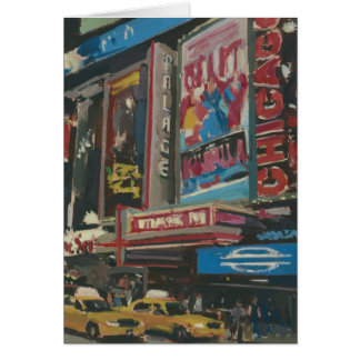 Bright Lights Times Square 2012 Card