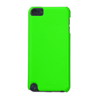 Bright Lime Green Color iPod Touch (5th Generation) Cover