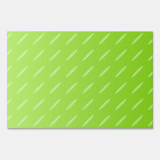 Bright Lime Green Patterned Background Design. Sign