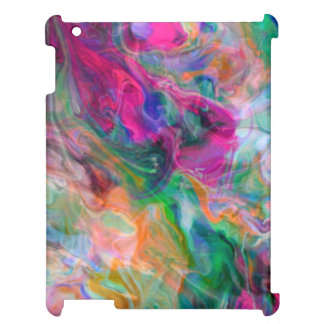 Bright Liquid Colour Psychedelic Funky Case Cover For The iPad