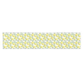 Bright, Lovely Table Runner with Lemons print