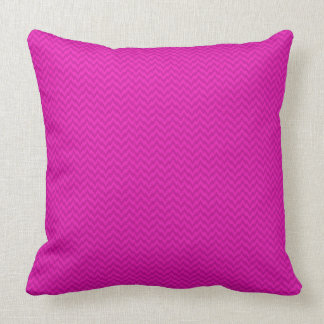 Bright Magenta Solid Color Accent Pillow