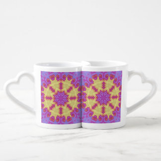 Bright Mandala Coffee Mug Set
