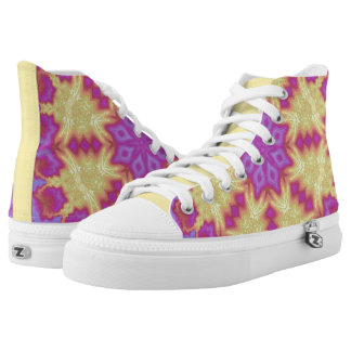Bright Mandala High Tops