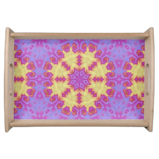 Bright Mandala Serving Tray