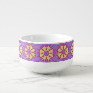 Bright Mandala Soup Mug
