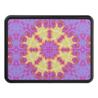 Bright Mandala Trailer Hitch Cover