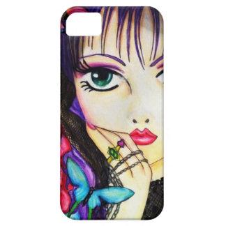 Bright manga decorative artwork iPhone 5 cases