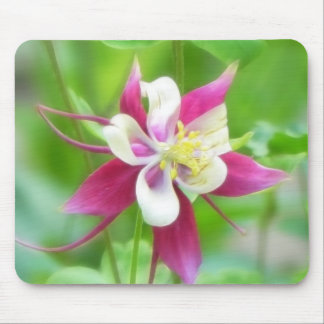 Bright McKana Type Columbine Mouse Pad
