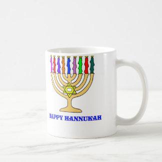 Bright Menorah Coffee Mug