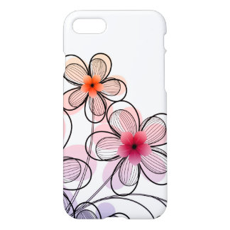 Bright Modern Flowers iPhone 8/7 Case