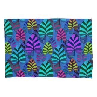 Bright Modern Leaf Pattern 437 Pillowcase