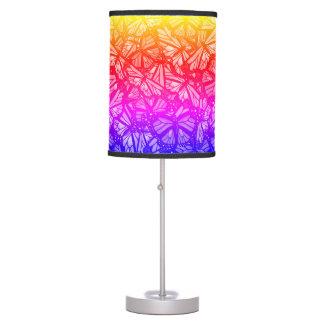 BRIGHT MONARCH BUTTERFLY PATTERN by Slipperywindow Table Lamp