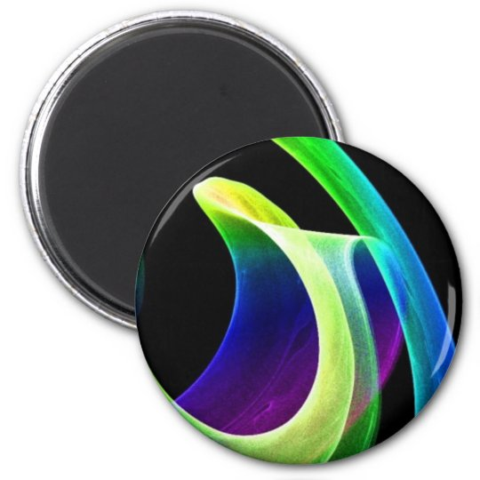 Bright Mood 2 Inch Round Magnet