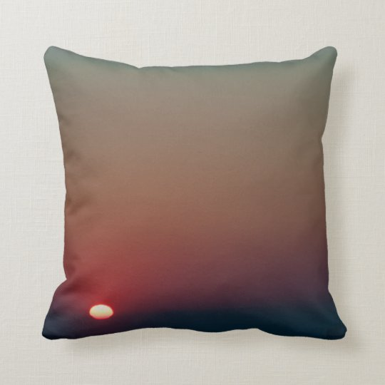 Bright Morning Sun Throw Pillow