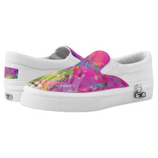 Bright Multi Colored  Sneaker