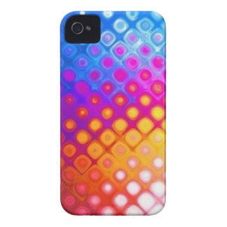 Bright Multicolor Abstract - iPhone 4 Case Mate