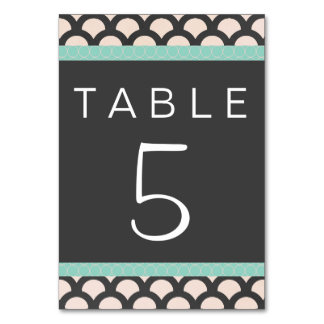 Bright N Beautiful Table Card