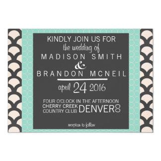 Bright N Beautiful Wedding Invitation