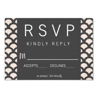 Bright N Beautiful Wedding RSVP Card