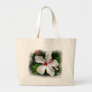BRIGHT NATURE OF BEAUTY LARGE TOTE BAG