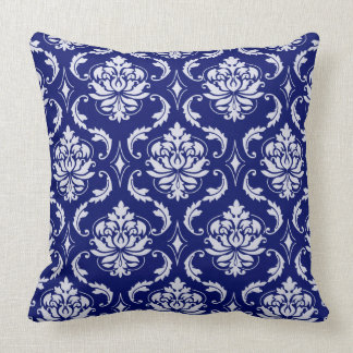 Bright Blue Decorative Pillow : Navy Background Pillows - Navy Background Throw Pillows Zazzle