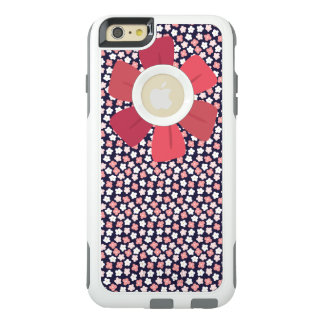 Bright Navy Ditsy Floral OtterBox iPhone 6/6s Plus Case