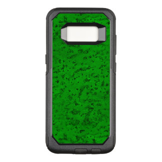 Bright Neon Green Cork Bark Look Wood Grain OtterBox Commuter Samsung Galaxy S8 Case