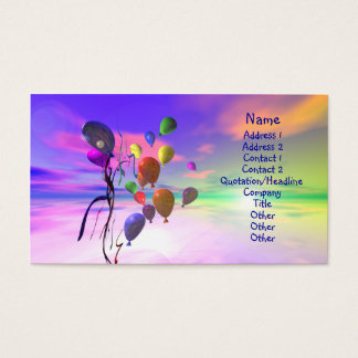 Bright New Day - Business Size Business Card