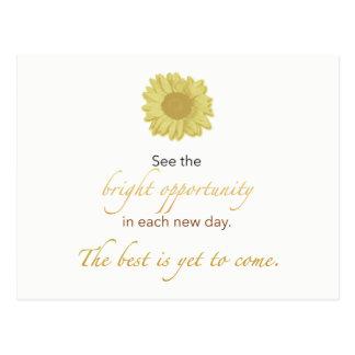 Bright New Day Postcard