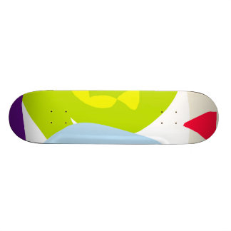 Bright Night Southern Cross Yellow Tent Custom Skate Board
