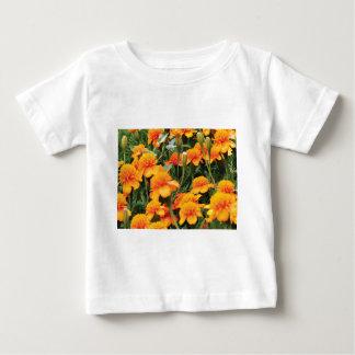 bright orange flowers baby T-Shirt