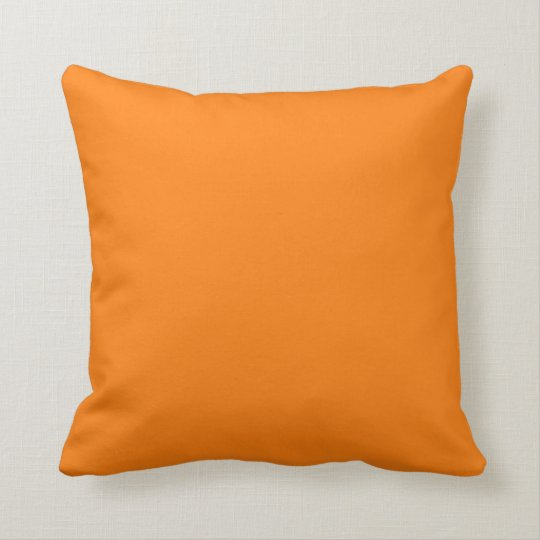 Bright Orange Pillow