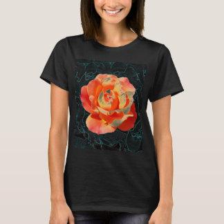Bright orange rose T-Shirt