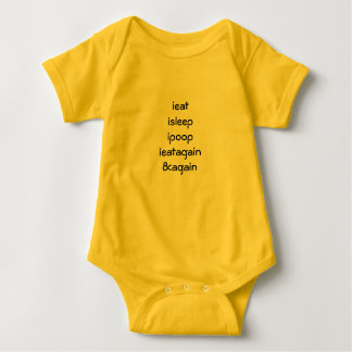 Bright outfit for brand new baby baby bodysuit